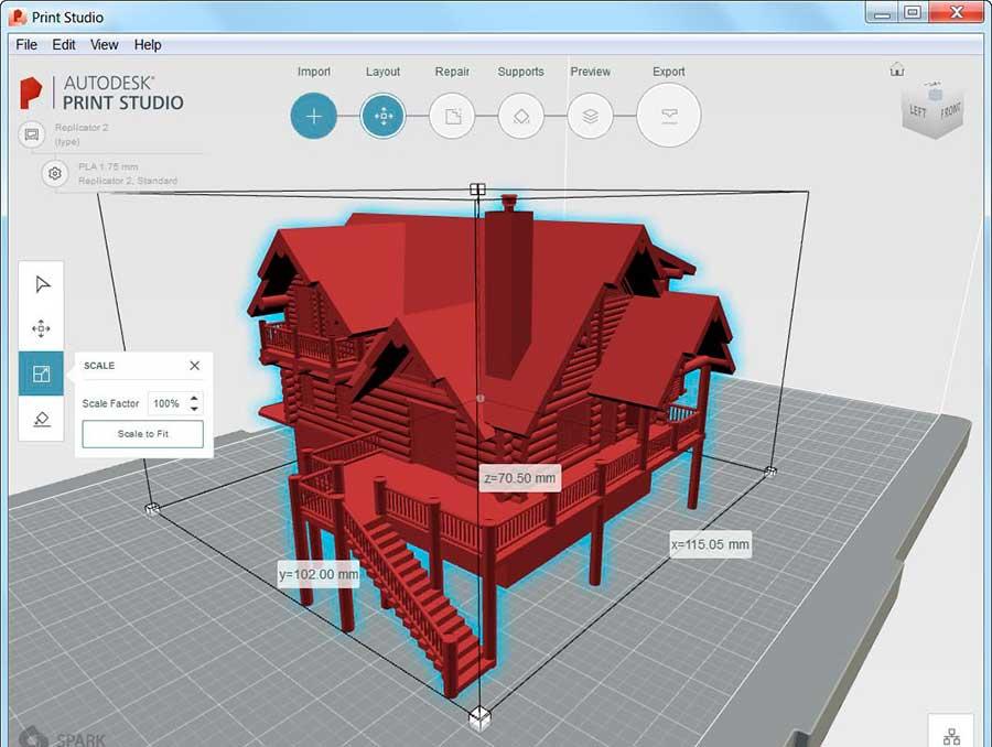 Impresión 3D mejorada en Autocad