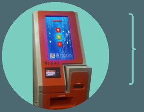 Cajero automático de impresión express