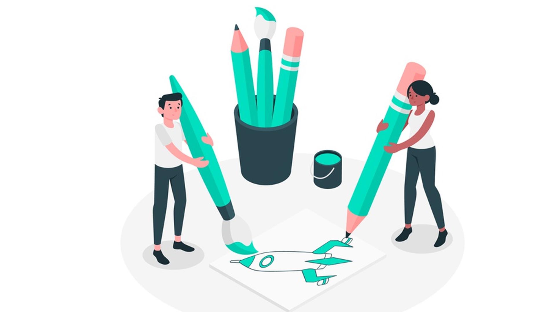 Cómo crear ilustraciones para utilizar en blogs y sitios Web
