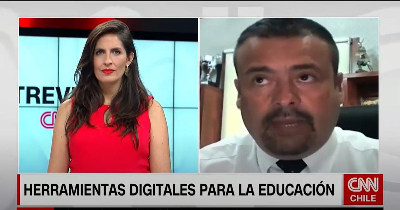 Entrevista para CNN: herramientas digitales para educación