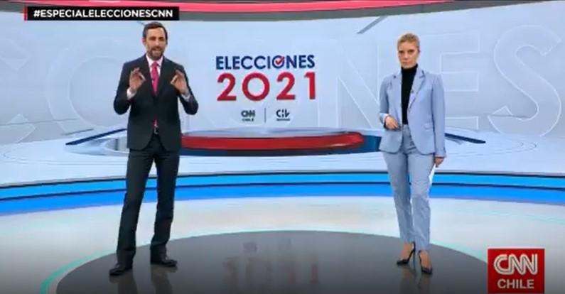 CNN Chile, especial elecciones: emisión del 15 de mayo de 2021